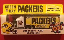 Green Bay Packers Super Bowl 31 Champions Diecast Tractor-Trailer