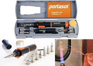 Portasol 010589330 Super Pro 125-Watt Heat Tool Kit with 7 Tips New Free Ship