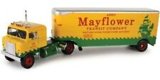 LIMITED EDITION 1955 Kenworth Bullnose with Mayflower Moving Trailer  1/43 scale