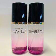 2 Victoria's Secret FEARLESS Fragrance Mini Mist Spray 2.5 fl.oz Travel Size
