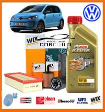 "KIT TAGLIANDO VW UP 1.0  60CV DAL ""11  OLIO CASTROL + FILTRI"