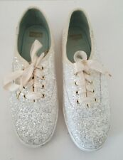 Keds X Kate Spade New York Glitter Sneakers Size 8.5