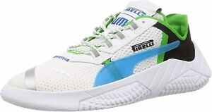 Original Puma Replicat X Pirelli Trainers White Black classic Green 339855 02