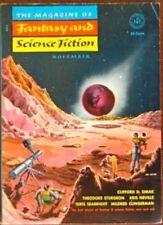 MAGAZINE OF FANTASY AND SCIENCE FICTION 1953 NOVEMBER