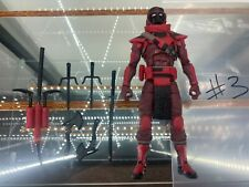 "Hasbro G.I. Joe Classified 6"" Red Ninja Complete/Loose"