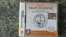 Nintendo DS~2DS~3DS «MORE BRAIN TRAINING DR. KAWASHIMA» come nuovo italiano