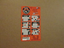 BCHL Trail Smoke Eaters Circa 2001 2002 Magnet Schedule