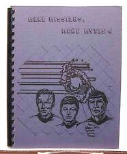1986 Star Trek Fanzine- More Missions,More Myths #4