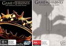 Game Of Thrones SEASON 2 & 3 : NEW DVD