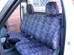 PLAIN BLACK SEAT COVER FIT FORD COURIER+MAZDA BRAVO 1999-2006,NO ARM REST