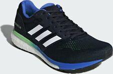 adidas Men's Adizero Boston 7 Running Shoe, Legend Ink/Shock Lime, 8.5 D(M) US