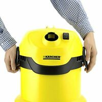 Karcher WD2 Wet & Dry Vacuum Cleaner 1000W 240V - EXTRA YEAR WARRANTY - 3 YEARS