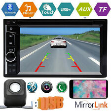 6.2inch Double Din Car Stereo Android IOS Phone Mirror Link For GPS CD DVD Radio