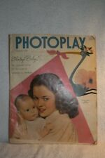 Vintage Shirley Temple & Daughter 1940 PHOTOPLAY Magazine