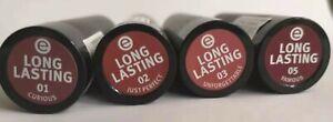 Essence Cosmetics long lasting lipstick