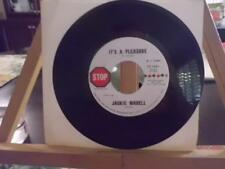 JACKIE WADELL 45 It's A Pleasure/Gonna Do My Own Thing STOP Records ST 1531 1970