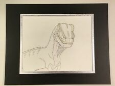 Cadillacs and Dinosaurs Animation Art Cel Drawing 1993-94