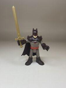 Fisher-Price Imaginext DC SuperHeroes Series 4 Figure Thomas Wayne Batman Sword