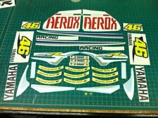 AEROX R Sport Rossi 46 decals stickers Graphics Kit Fiat scooter édition spéciale