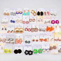 Wholesale Lot Of 30 Pairs Studs Earrings Fashion Jewelry Earrings For Women