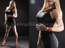 Sexy Big Bust Female Fiberglass Mannequin Dress Form Display #MZ-VIS1