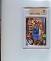 2009-10 Panini Adrenalyn XL James Harden SP PARALLEL ROOKIE RC BGS 10 PRISTINE