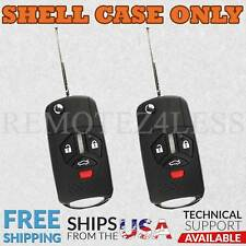 2 For 2007 2008 2009 2010 2011 2012 Mitsubishi Galant Remote Shell Case Cover