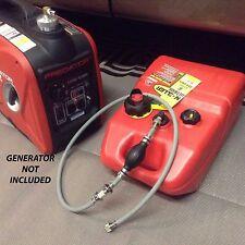 Predator 2000 Watt Inverter Generator 6 Gallon Extended Run Fuel System Read