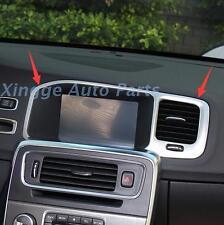 Center Console Navigation Decoration Frame Fit For Volvo S60 S60L V60 2011-15