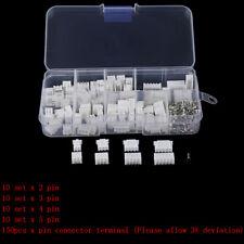 1Box JST-XH Kit 2/3/4/5Pin XH2.54MM Terminal Housing PCB Header Wire Connectors