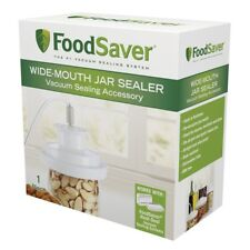 T03-0023-01P - Sunbeam FoodSaver Vacuum Sealing Accessory Wide-Mouth Jar Sealer