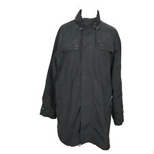 Pedro Del Hierro Ladies Womens Rain Coat Jacket Spanish Designer Black Size L
