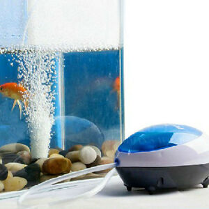 1.5W Ultra Silent High Energy Efficient Aquarium Fish Tank Oxygen Air Pump Lot