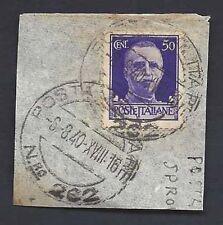 POSTA MILITARE 1940 Frammento da PM 262 (FM8)