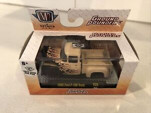 M2 Ground Pounders Limited /250 1956 Ford F-100 truck raw New In Box