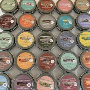 Yankee Candle Spill-Proof Gel Tins High Intensity 50 Hours Home Fragrance U Pick