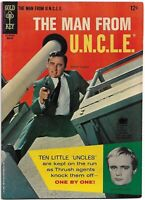"Man From UNCLE #5 VF Gold Key Comics 1966 ""Ten Little Indians"" Issue"