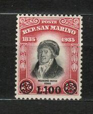 s33506 SAN MARINO 1948 MNH Delfico soprastampato 1v