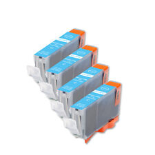 4 PK PHOTO CYAN Replacement Ink for Canon BCI-6PC S800 S820 S830 S900 i860 i950