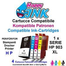4 Cartucce compatibili per HP 903 XL Officejet Pro 6860,6960,6970,6950,6968,6966