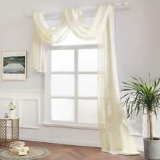 1 piece of high quality TAILORED VOILE WINDOW SCARF window valence