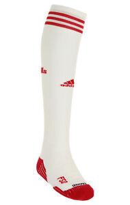 Adidas MLS New York Red Bull Classic Cushioned Soccer Socks, White/Red