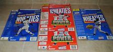 Ken Griffey Jr. Baseball Wheaties Box 4 Lot ~MVP Collector's Edition~1990's FLAT