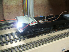 HORNBY  ANALOGUE HST DUMMY CHASSIS (27). LED HEAD/TAIL LIGHTS. 12v dc VERSION