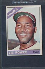 1966 Topps #192 Vic Power Angels EX *3040