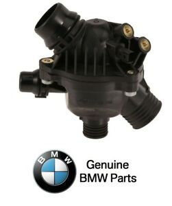 Engine Coolant Thermostat Kit Genuine For BMW 11537549476