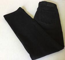 Ralph Lauren Lauren Jeans Co Women's Jeans Classic Straight Black  Size 10     D