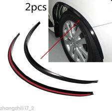 2x Car Wheel Arch Trim Fender Flare Wheel Eyebrow Protector Sticker Rubber Strip