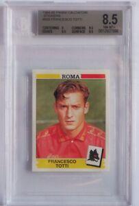 1994 Panini Calciatori Francesco Totti ROOKIE RC #320 Beckett 8,5 MINT