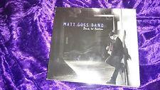 BACK TO BOSTON by the MATT GOSS BAND - the CD ALBUM - 10 tracks, 2010 - RARE!!!!